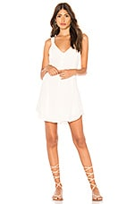 ZULU & ZEPHYR Breeze Slip Dress in White