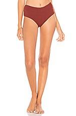 ZULU & ZEPHYR Desert Bikini Bottom in Berry