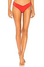 ZULU & ZEPHYR x Revolve Afterglow Bikini Bottom in Red