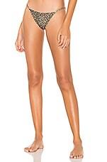 ZULU & ZEPHYR Shade Bikini Bottom in Polka Dot
