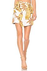 ZULU & ZEPHYR Bayleaf Skirt in Palm