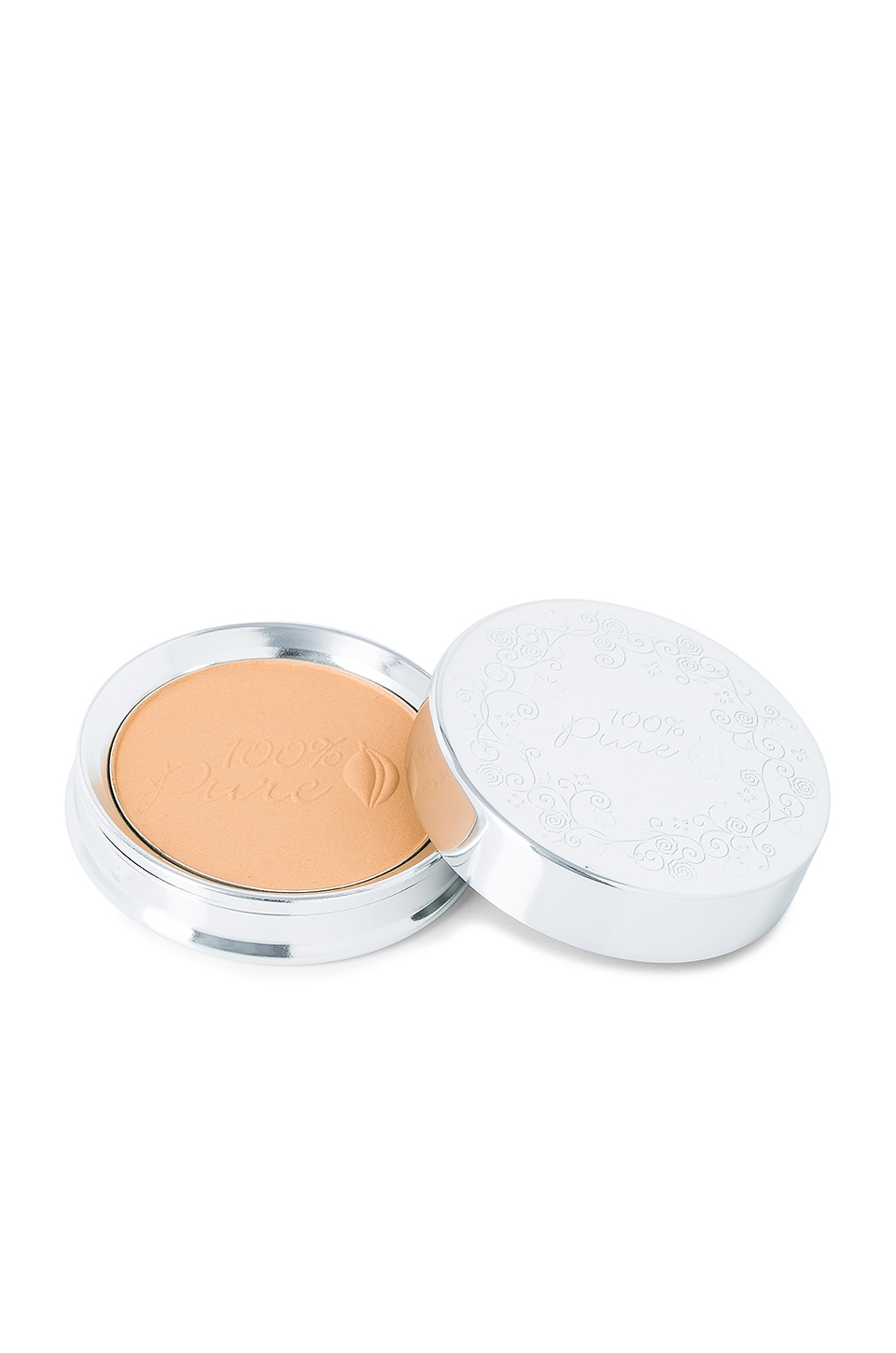 100% Pure Healthy Face Powder Foundation w/ Sun Protection in Sand