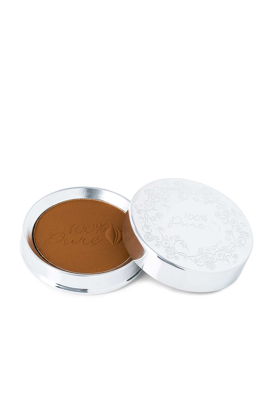 100% Pure Healthy Face Powder Foundation w/ Sun Protection in Cocoa