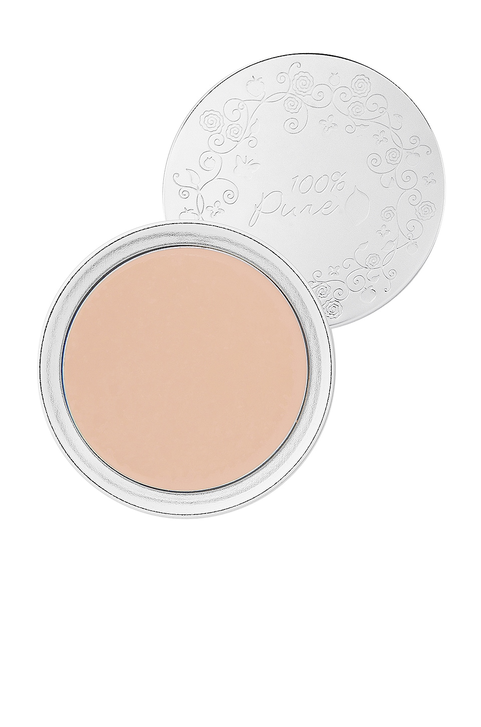 100% Pure Fruit Pigmented Cream Foundation in Alpine Rose