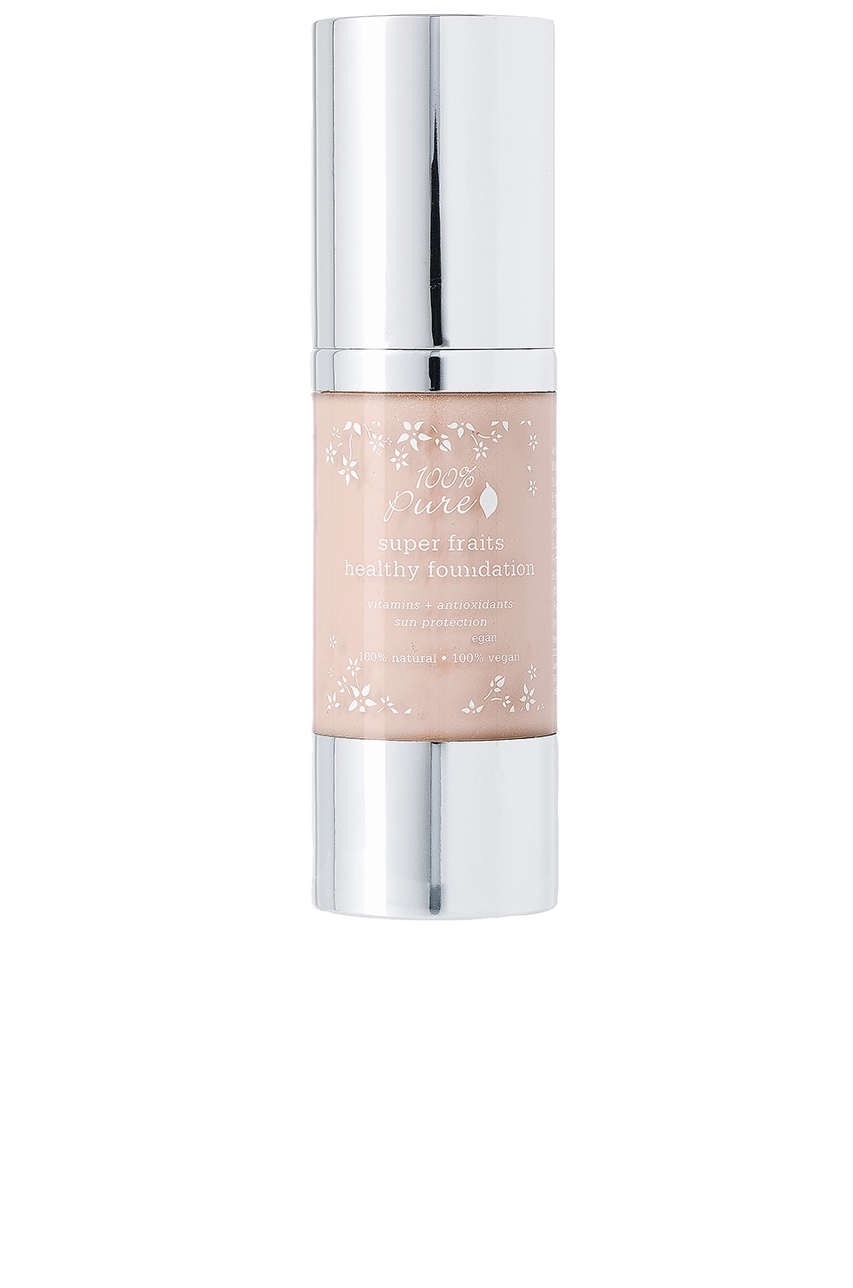 100% Pure Full Coverage Foundation w/Sun Protection in Alpine Rose