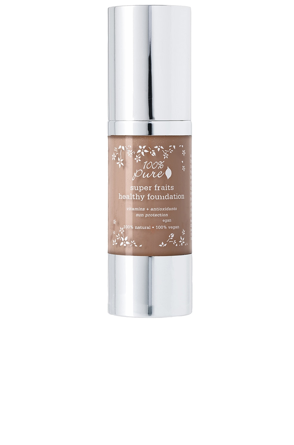 100% Pure Full Coverage Foundation w/Sun Protection in Mousse