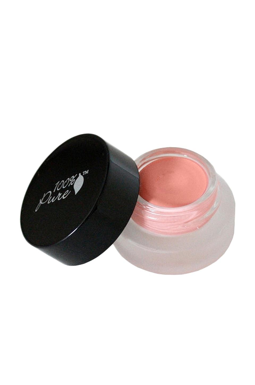 100% Pure Satin Cream Eye Shadow in Jeju