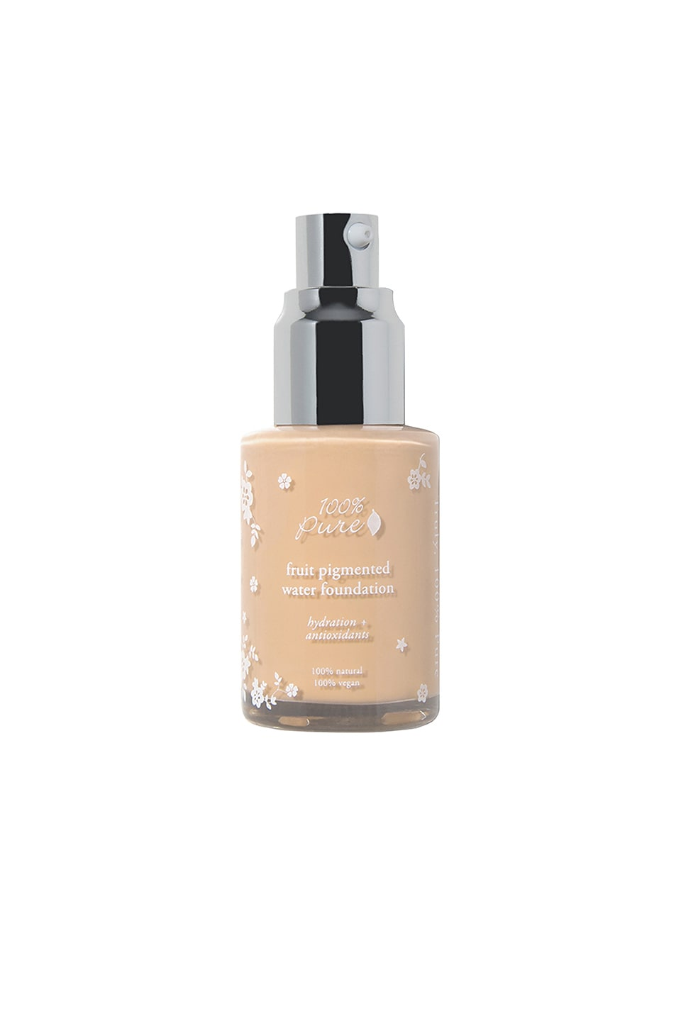 100 Pure Fruit Pigmented Water Foundation In Creme Revolve Beauty