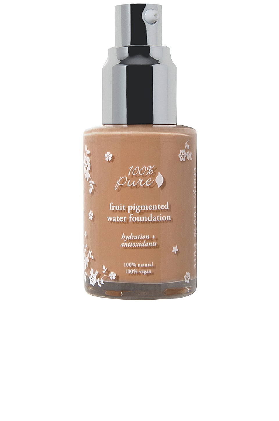 100% Pure Fruit Pigmented Water Foundation in Toffee