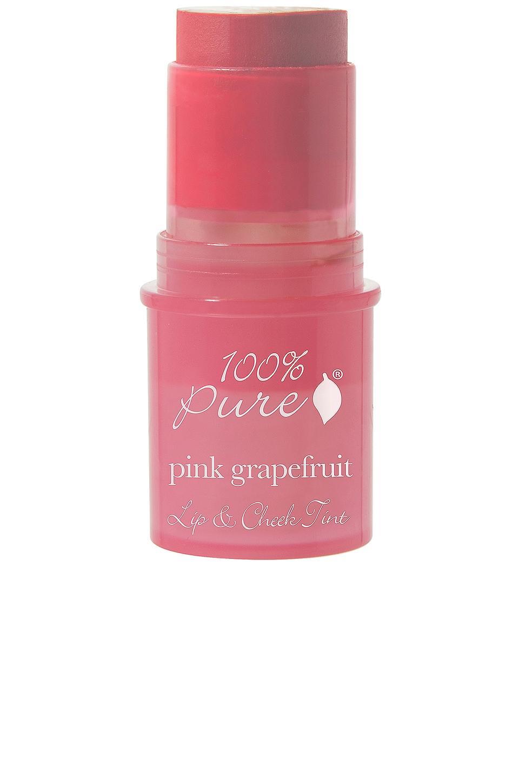 100% Pure Lip & Cheek Tint in Pink Grapefruit Glow