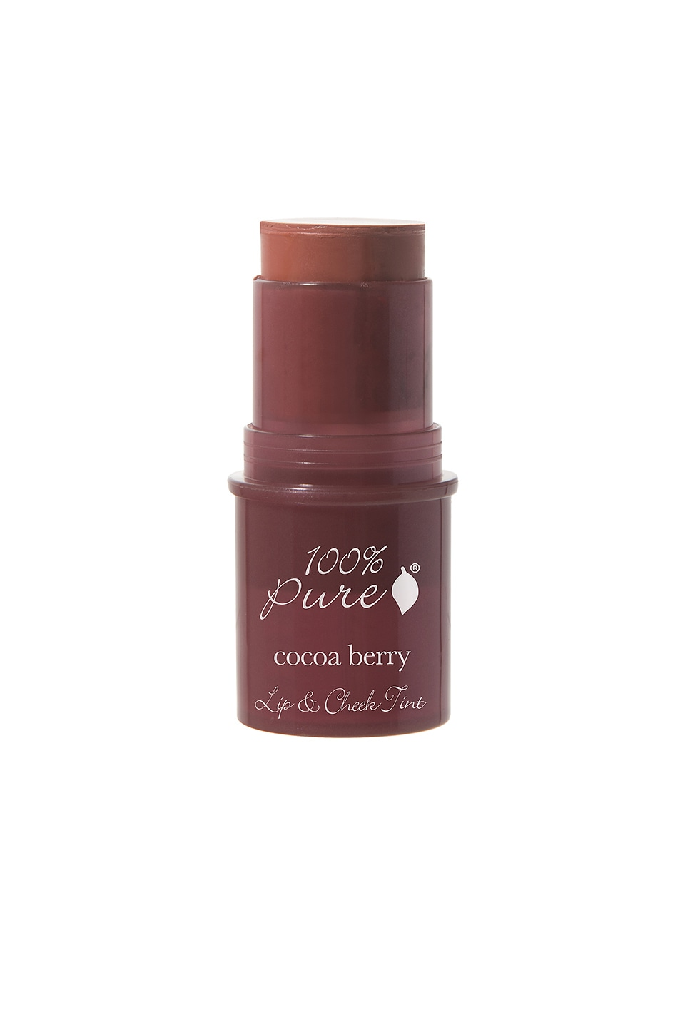 100% Pure Lip & Cheek Tint in Shimmery Cocoa Berry