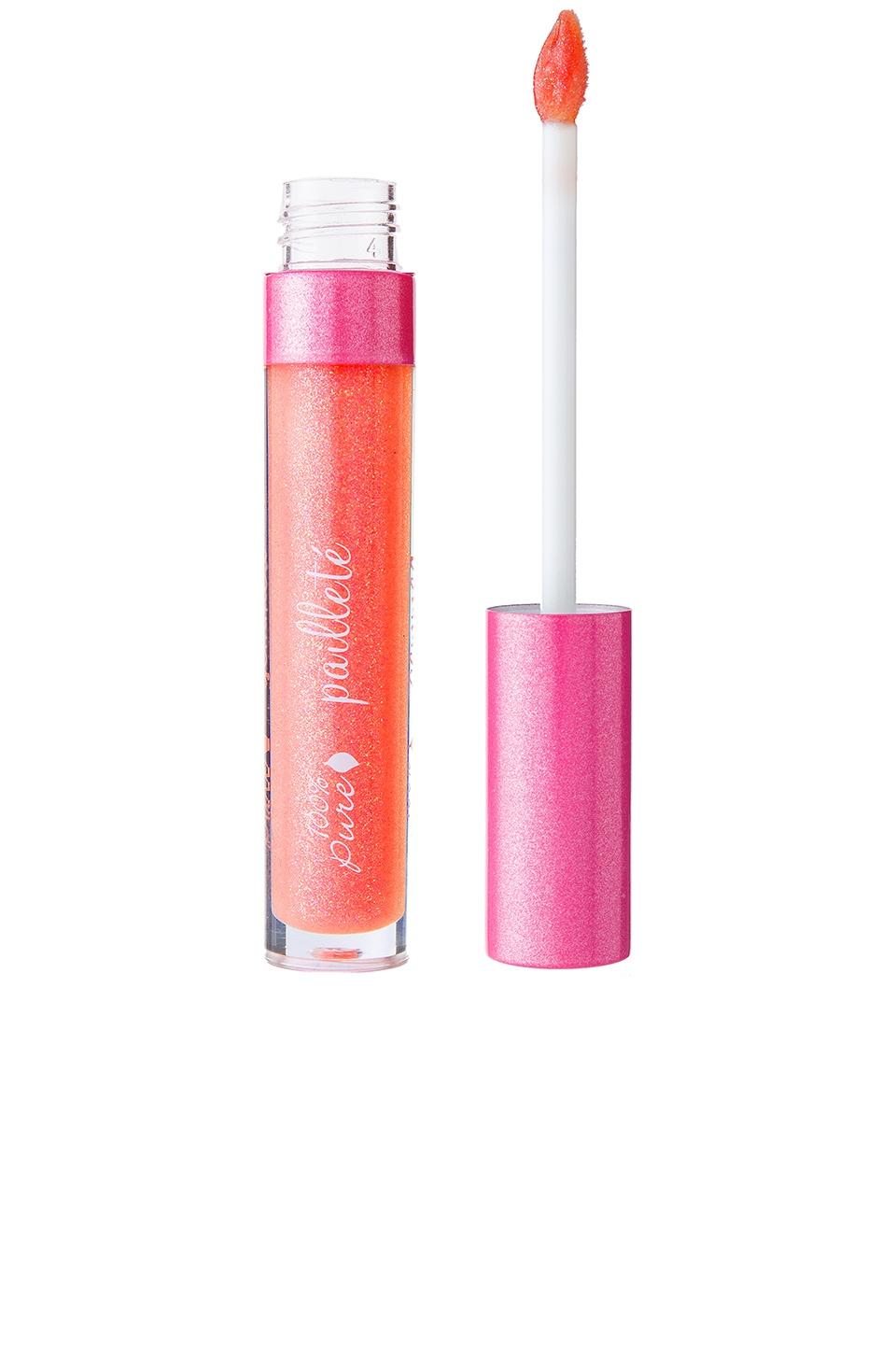 100% Pure Gemmed Lip Gloss in Citrine
