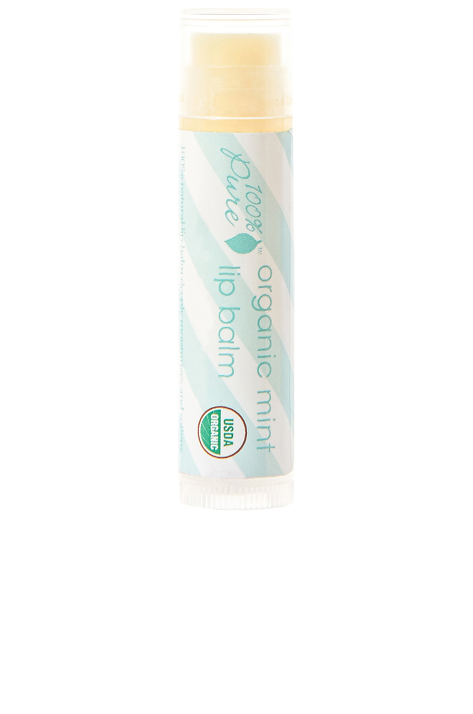 100% Pure Lip Balm in Organic Mint