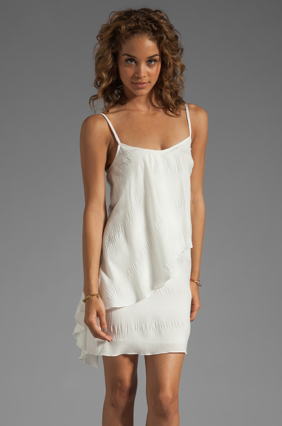 DEREK LAM 10 CROSBY Cami Dress in White