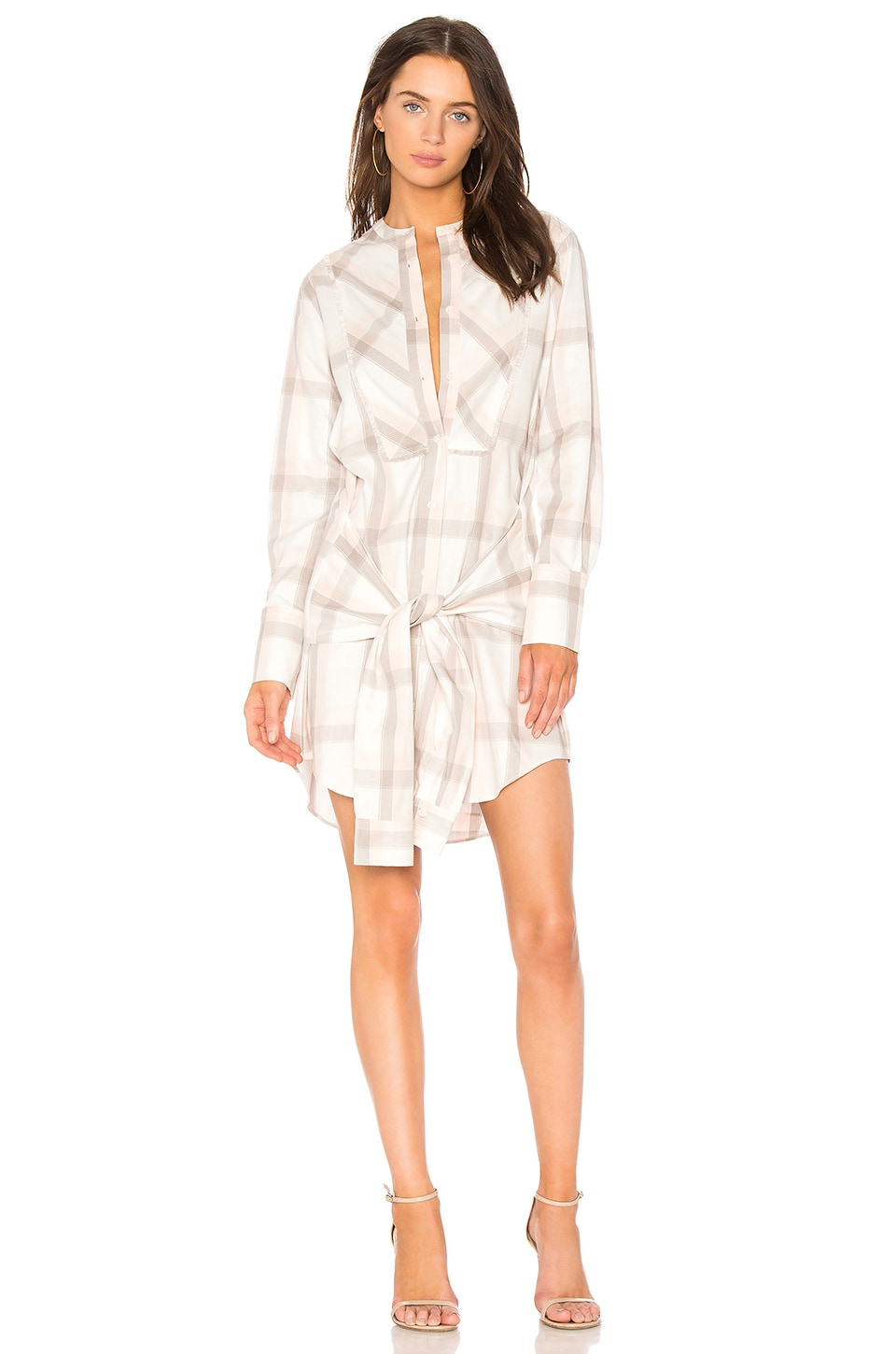 Plaid Shirt Dress by DEREK LAM 10 CROSBY