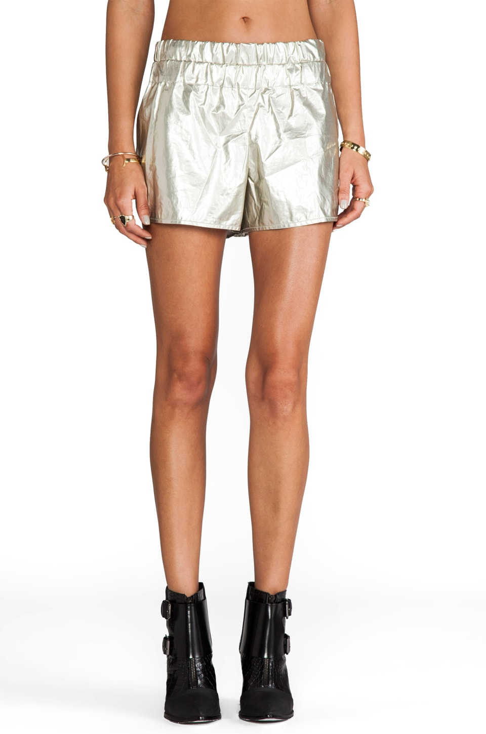 DEREK LAM 10 CROSBY Boxer Short in Gold