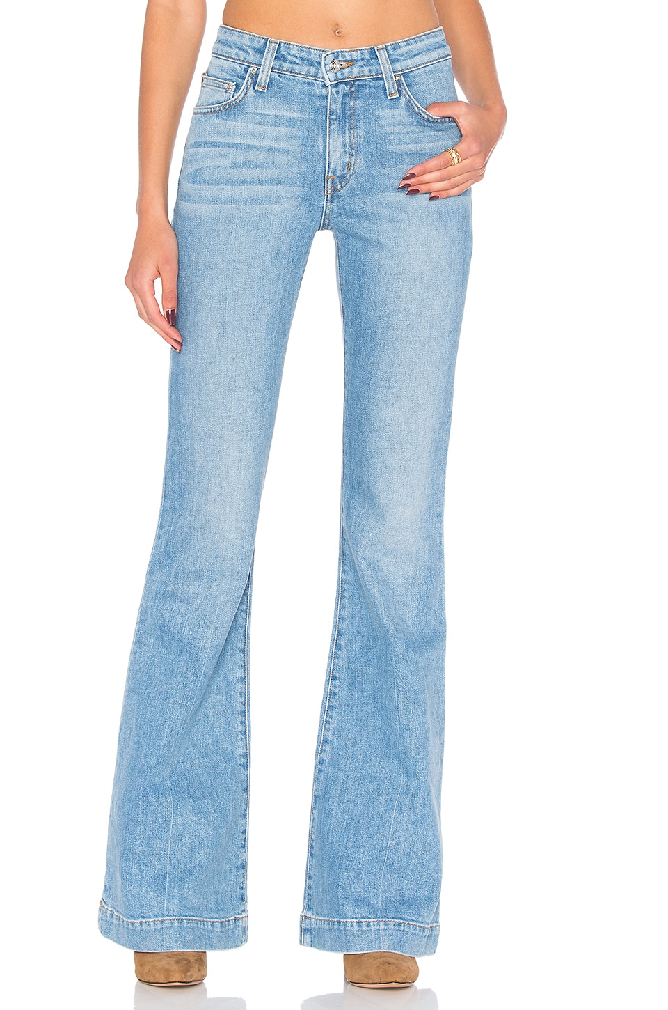 Noha Mid-Rise Sexy Flare by DEREK LAM 10 CROSBY
