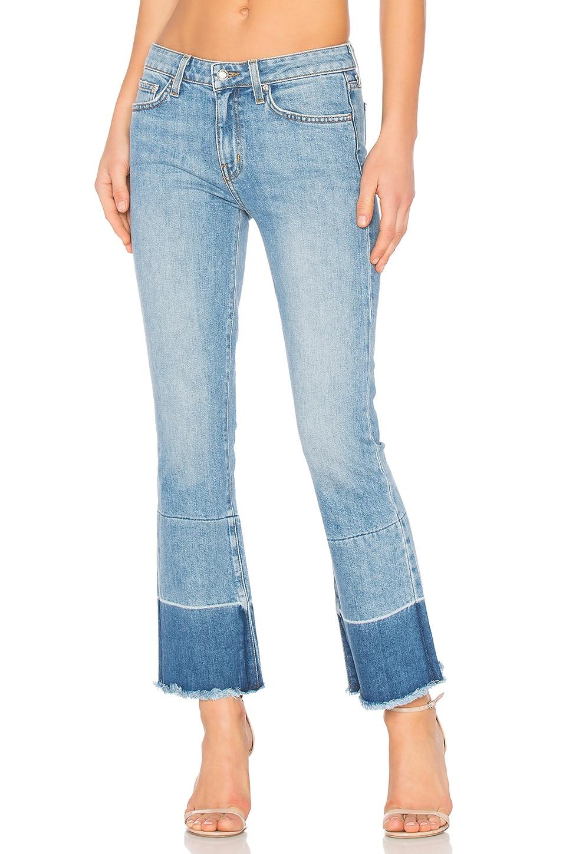DEREK LAM 10 CROSBY Flare Jeans in Light Wash