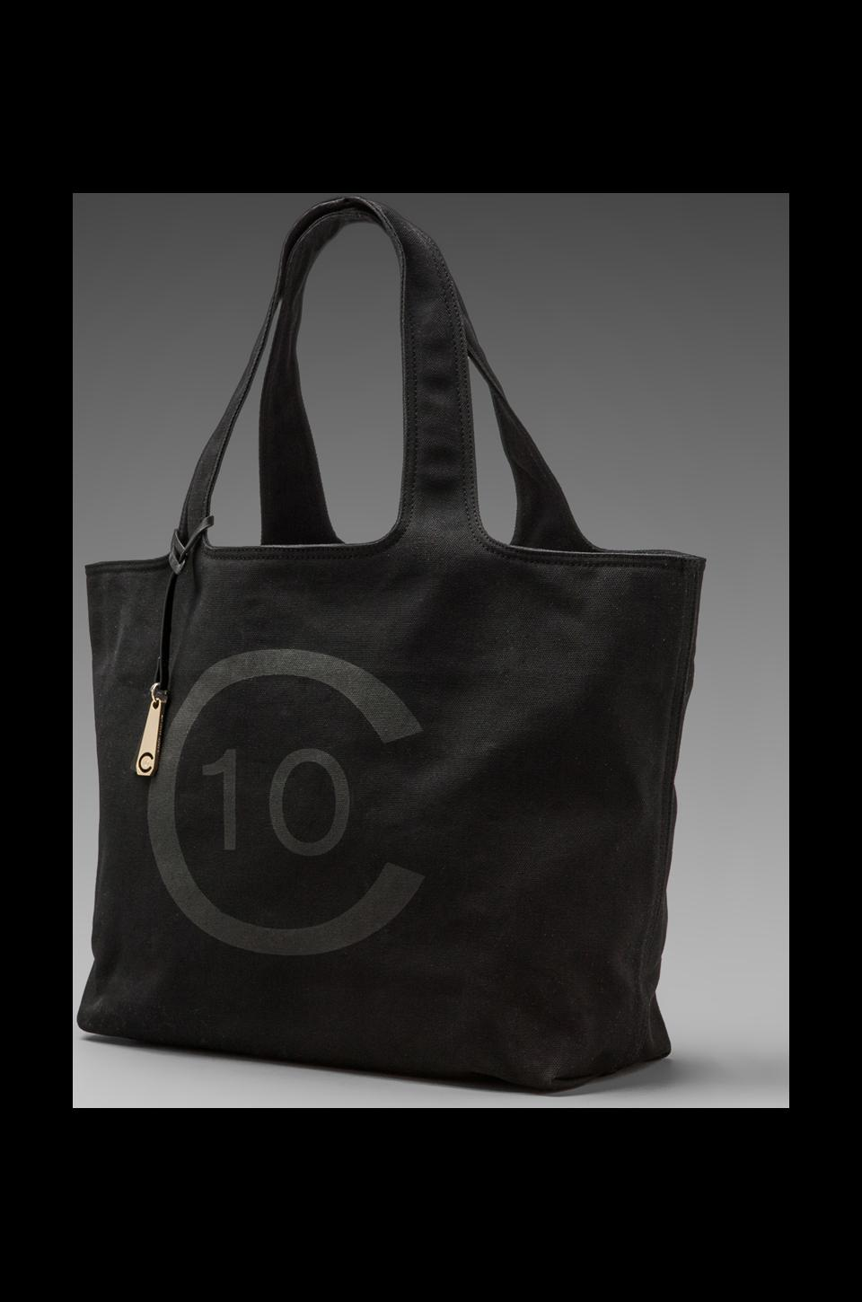 DEREK LAM 10 CROSBY 10C Canvas Tote in Black