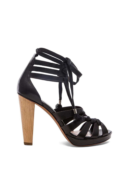 DEREK LAM 10 CROSBY Jasmin Heel in Black