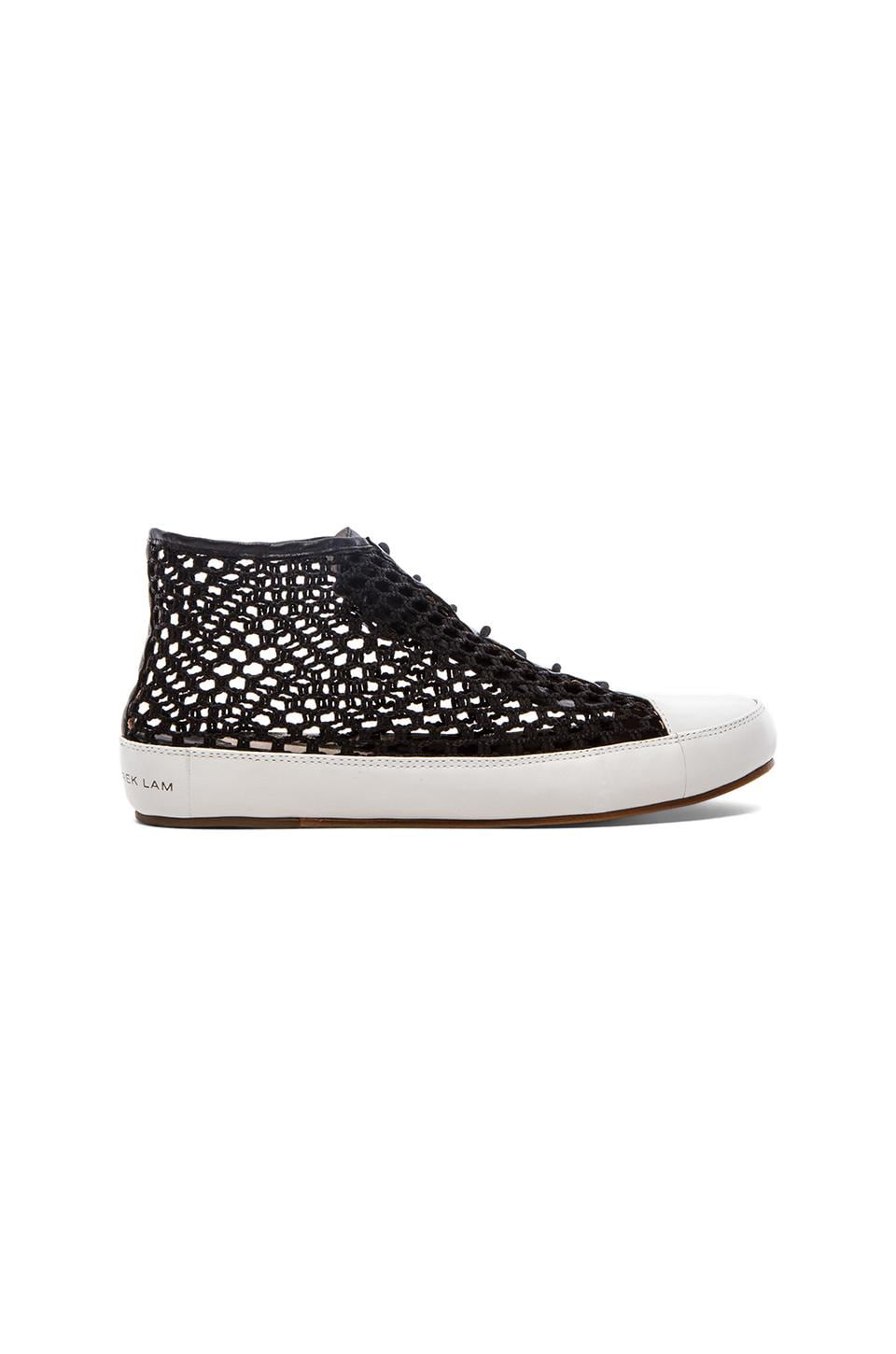 DEREK LAM 10 CROSBY Janel Too Sneaker in Black