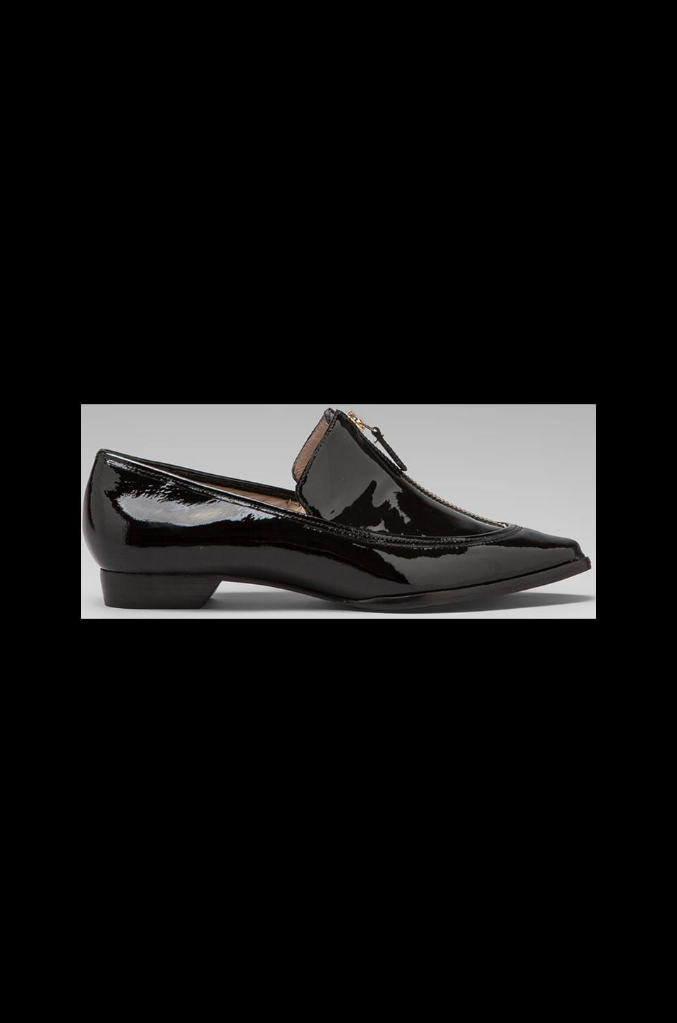 DEREK LAM 10 CROSBY Arty Loafer in Black