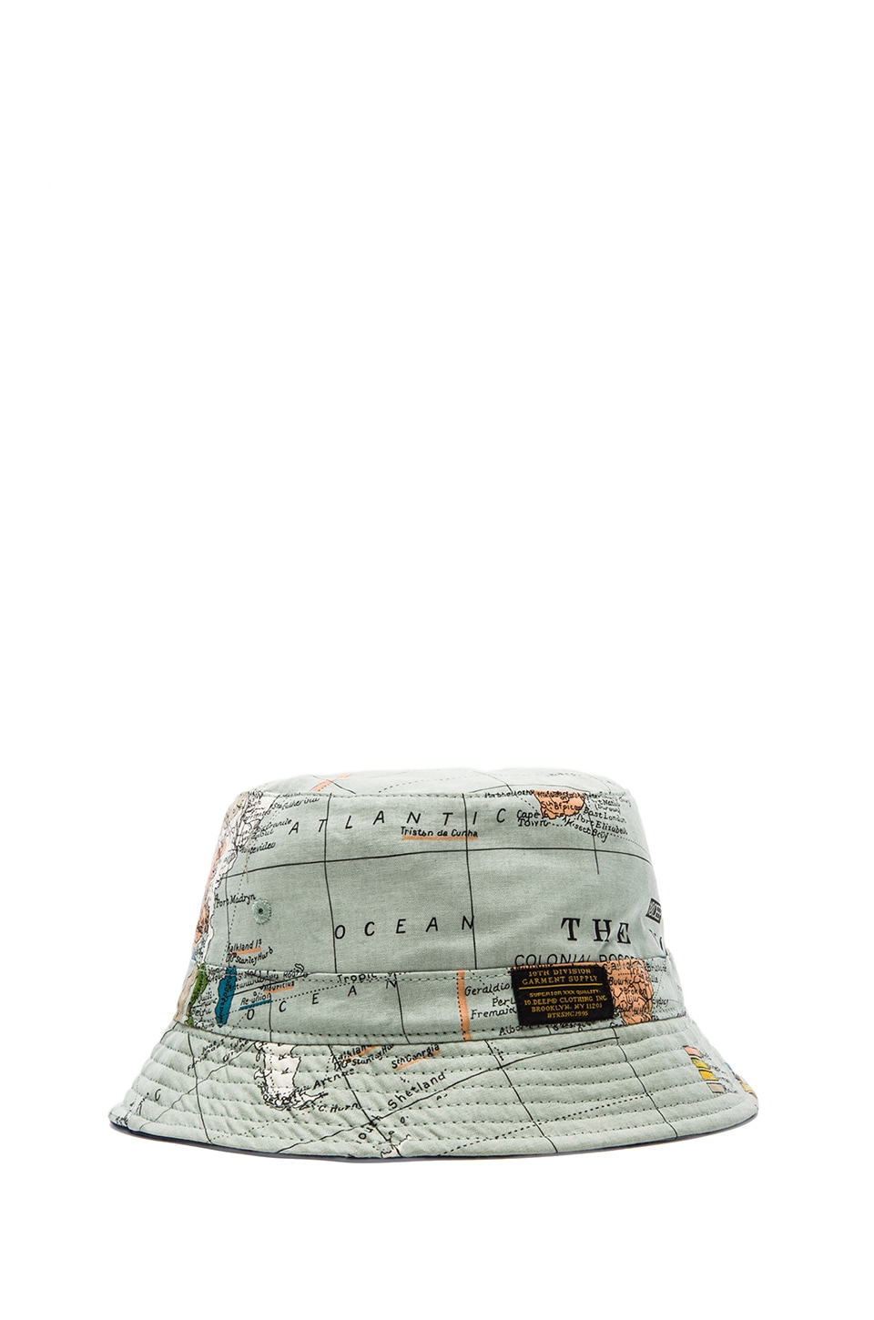 10 Deep Thompson Fisherman Cap in Maps