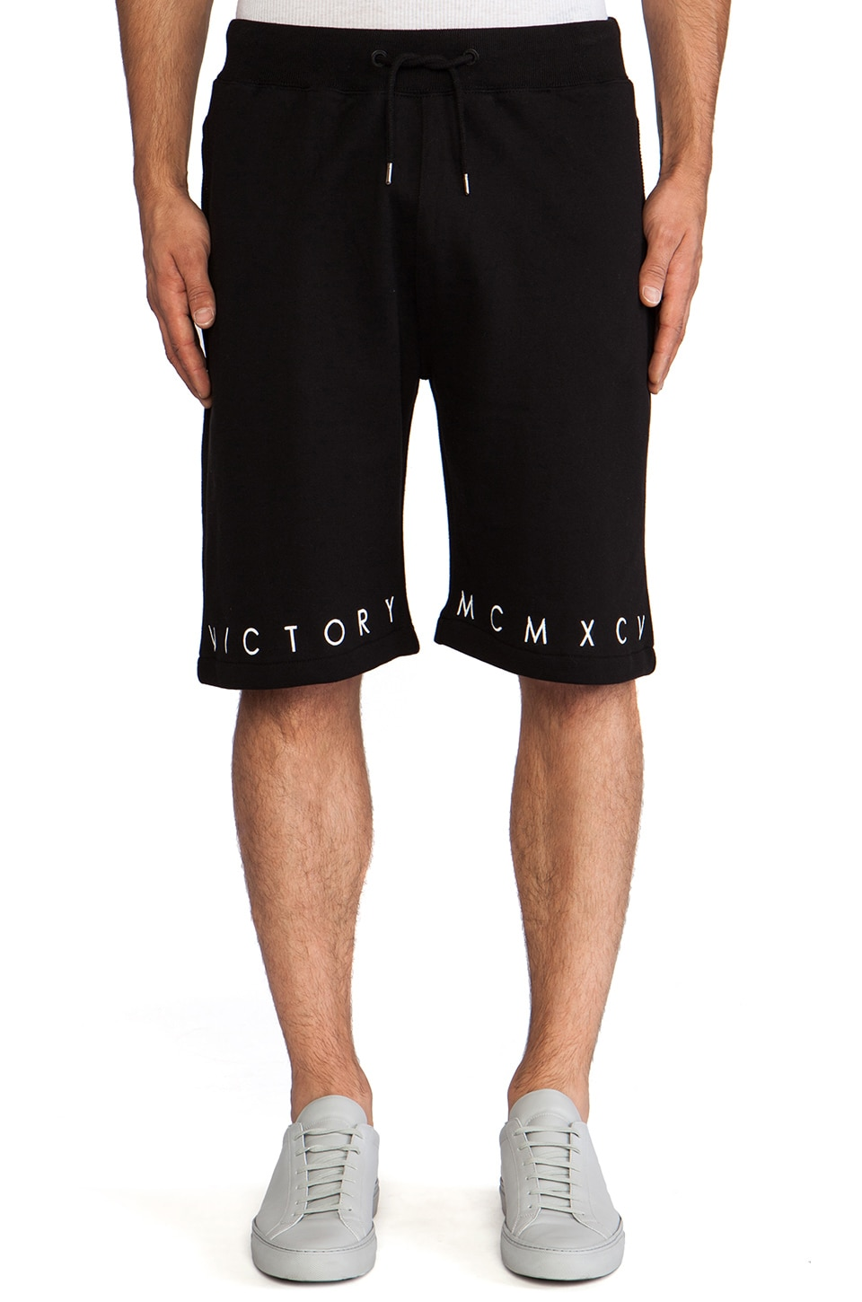 10 Deep Lower Level Sweatshort in Black