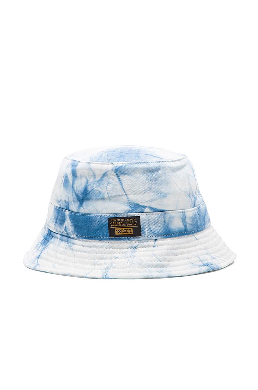 10 Deep Thompson s Bucket Hat in Blue Tie Dye  0a019e7b97b9