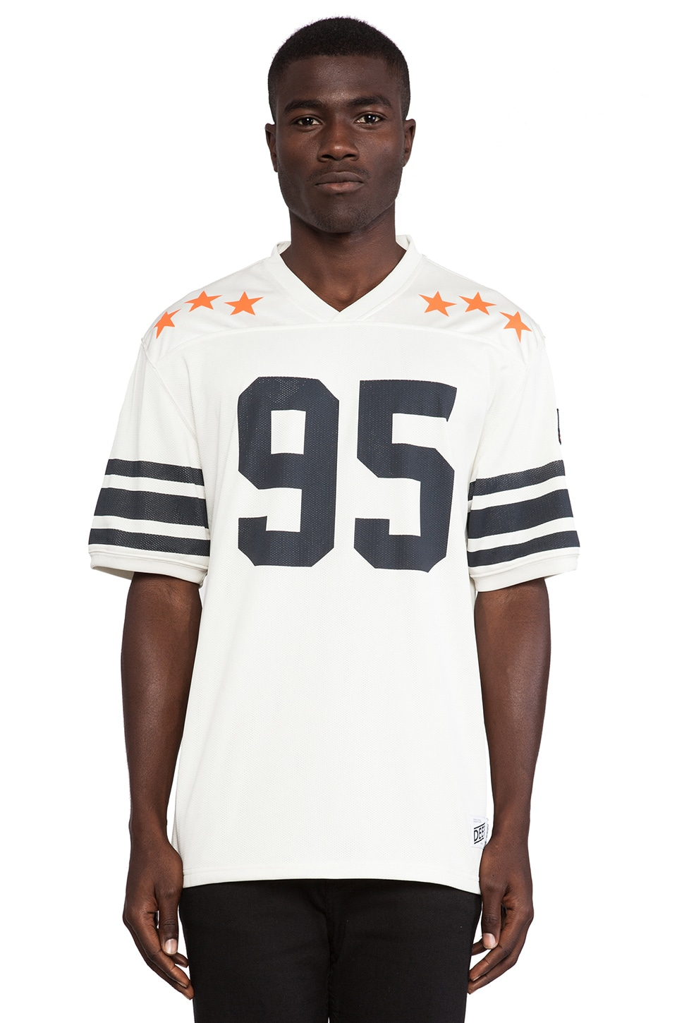 10 Deep Black Gold Jersey in Natural