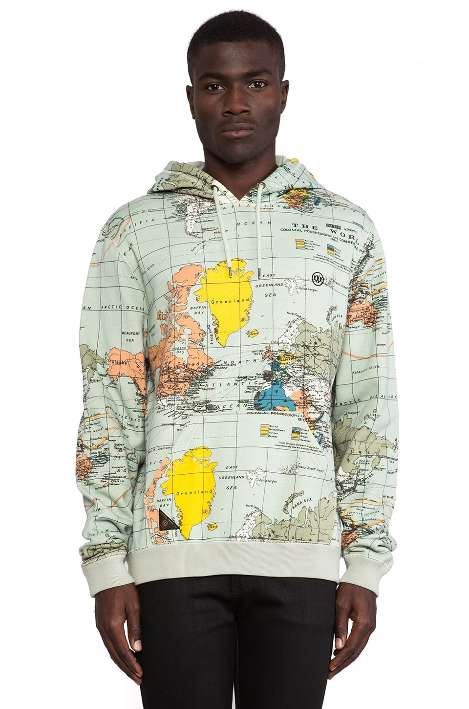 10 Deep International Hoodie in Maps