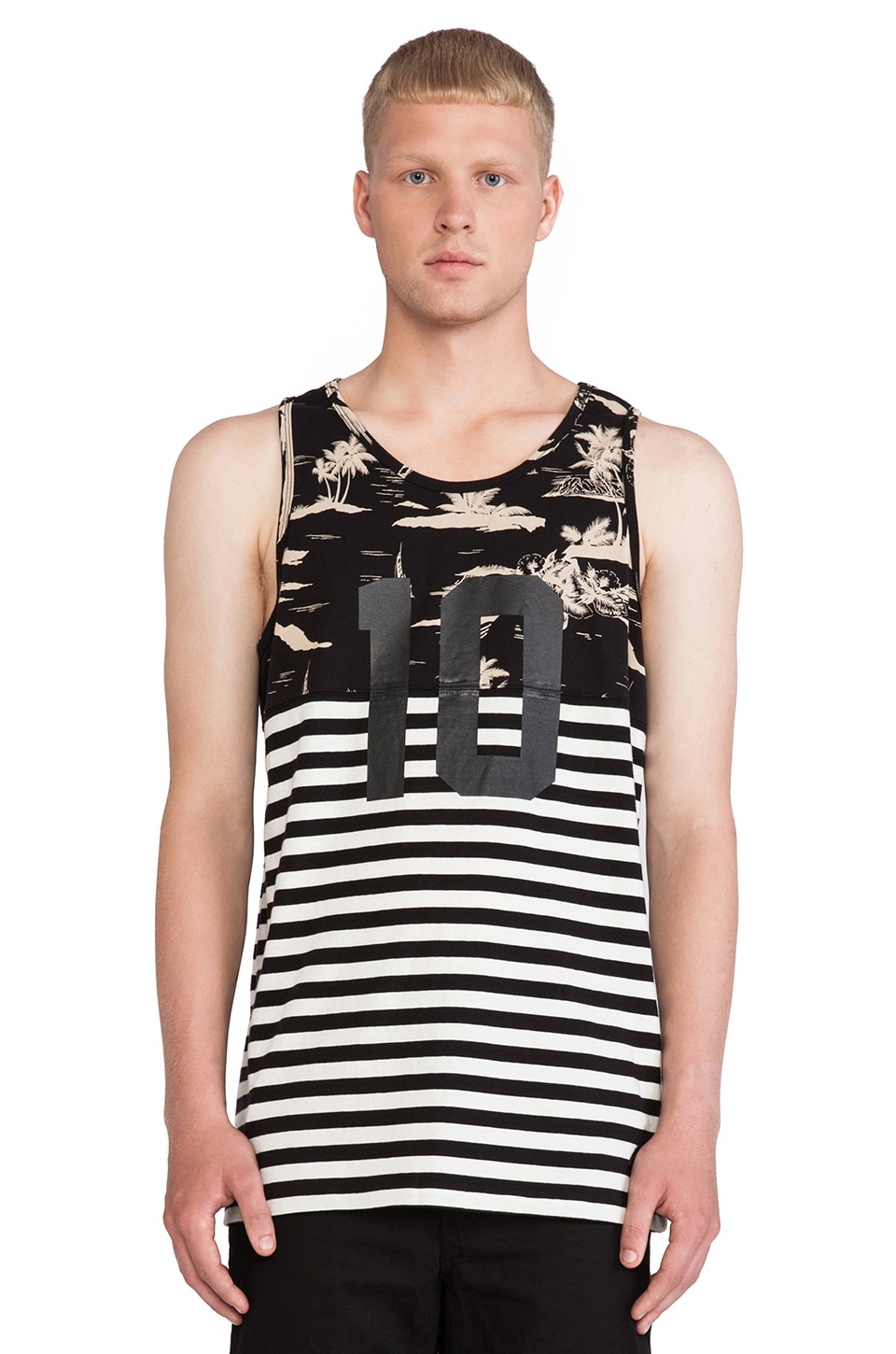 10 Deep Chaos Tank in Black