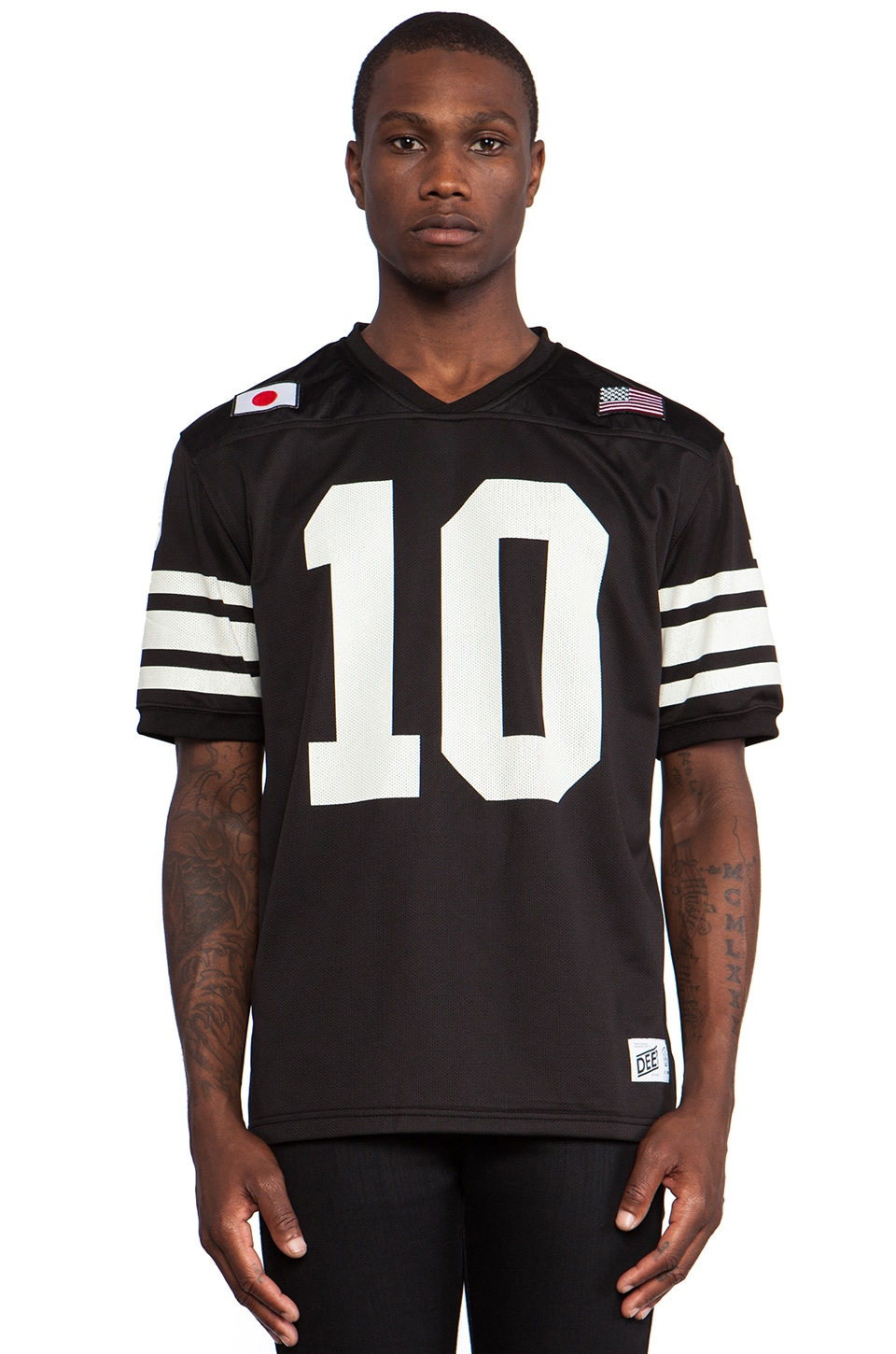 10 Deep X-League Jersey in Black