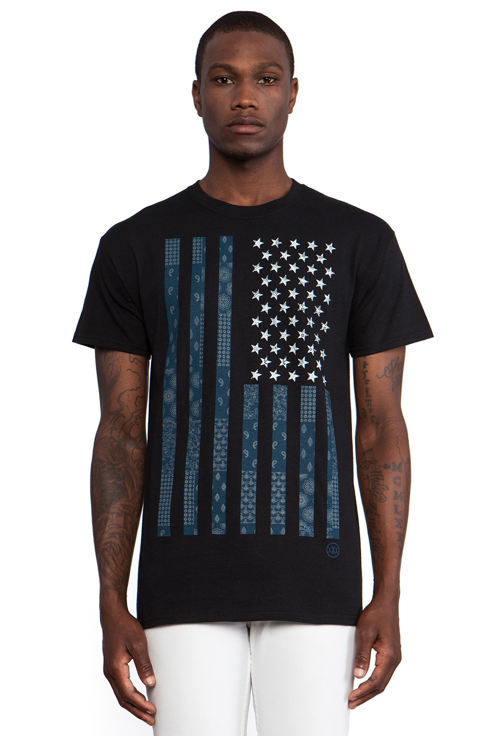 10 Deep Chaos Tee in Black