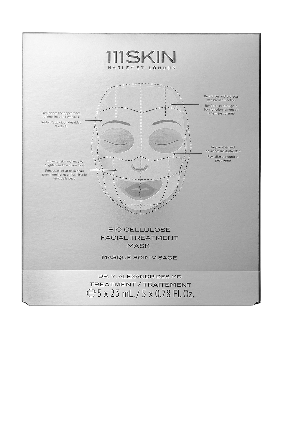 111Skin Bio Cellulose Treatment Mask Box 5 Pack