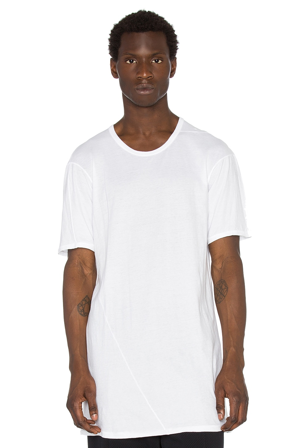 11 by Boris Bidjan Saberi Tee in White