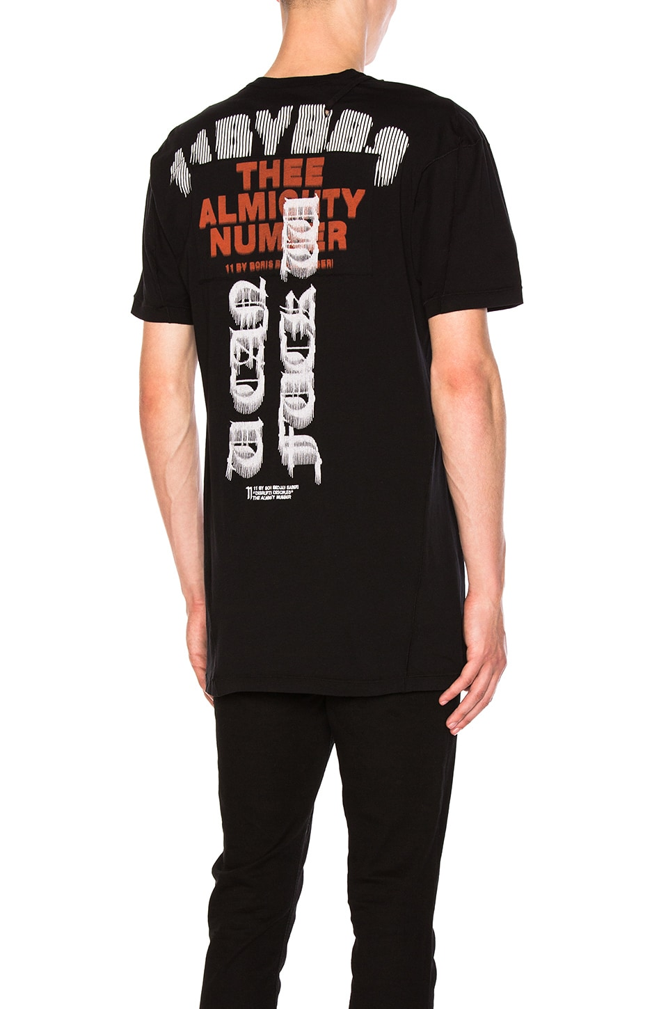 Graphic Tee by 11 by Boris Bidjan Saberi