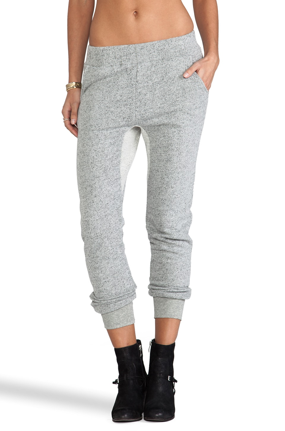 19 4t Drop Crotch Pant in Charcoal