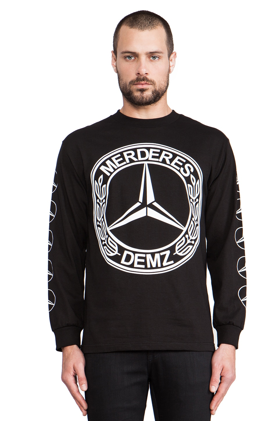 1992 Demz Long Sleeve Tee in Black