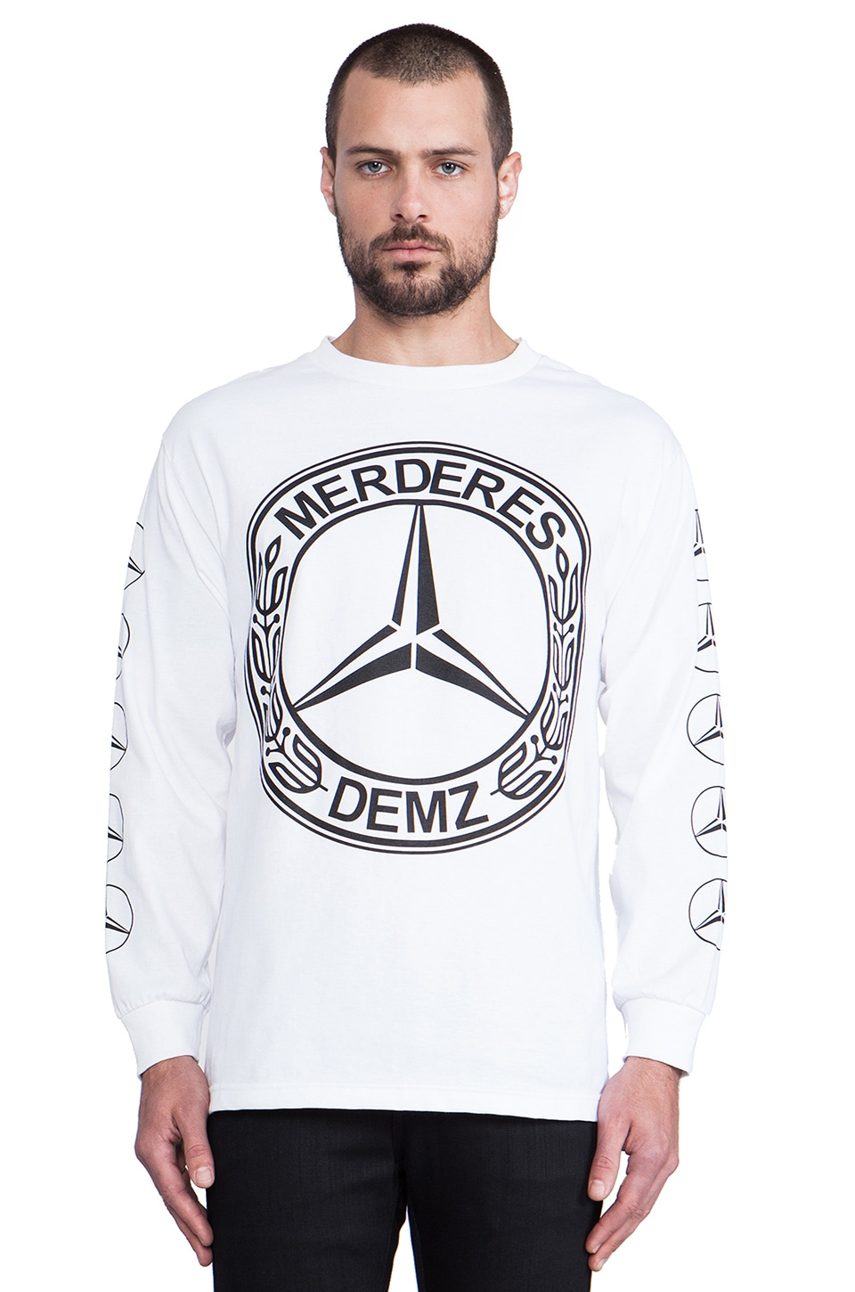 1992 Demz Long Sleeve Tee in White