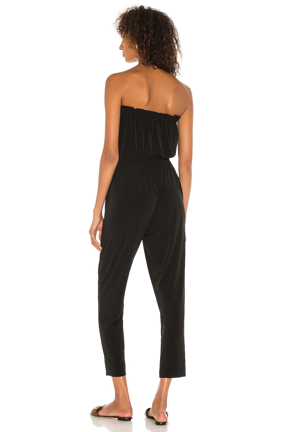 Strapless Knit Jumpsuit, view 3, click to view large image.