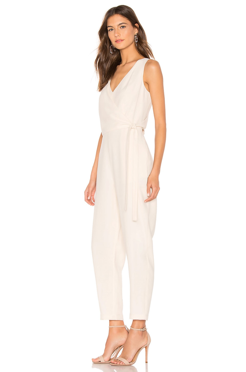 Wrap Front Jumpsuit, view 2, click to view large image.
