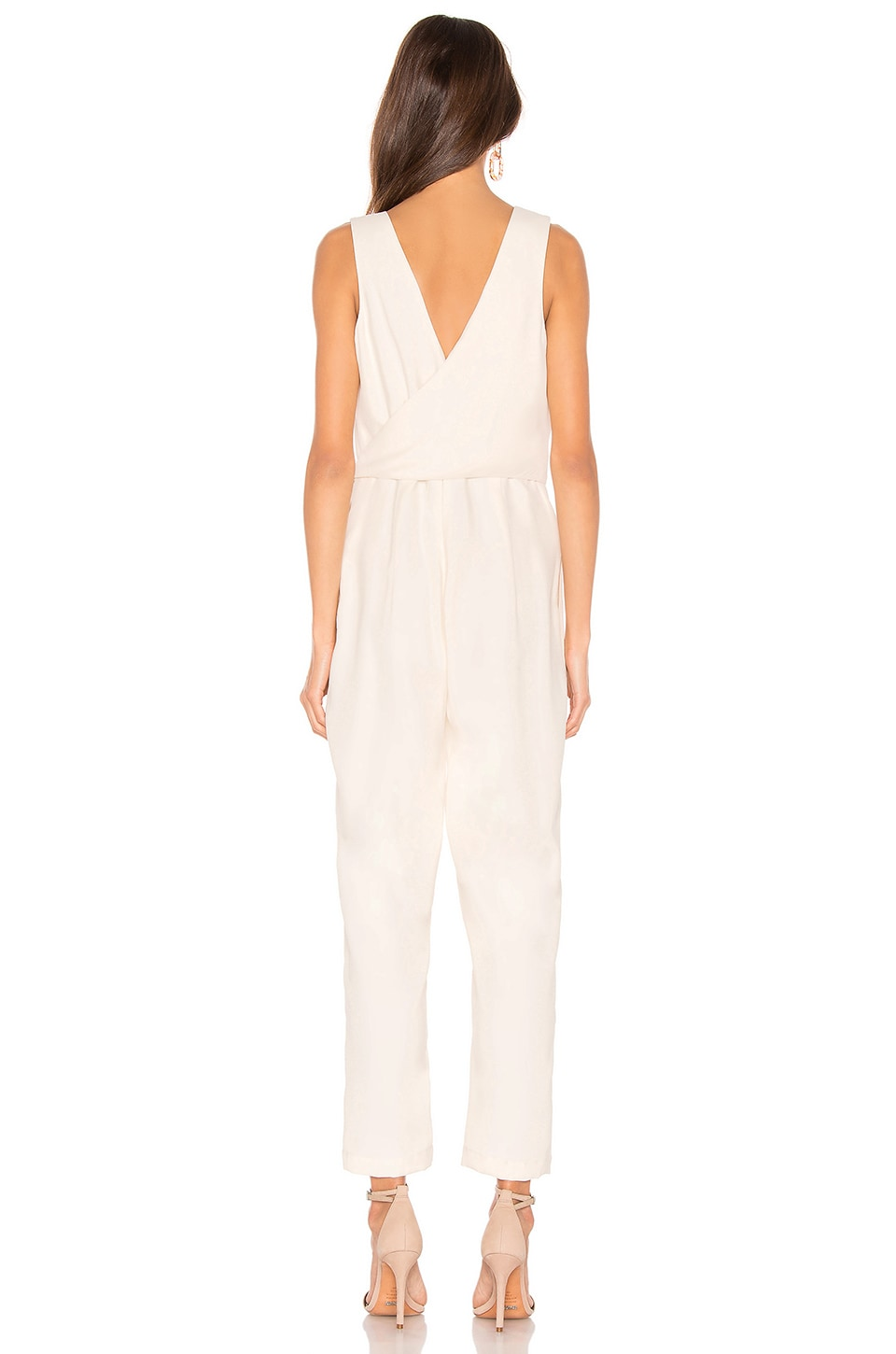 Wrap Front Jumpsuit, view 3, click to view large image.