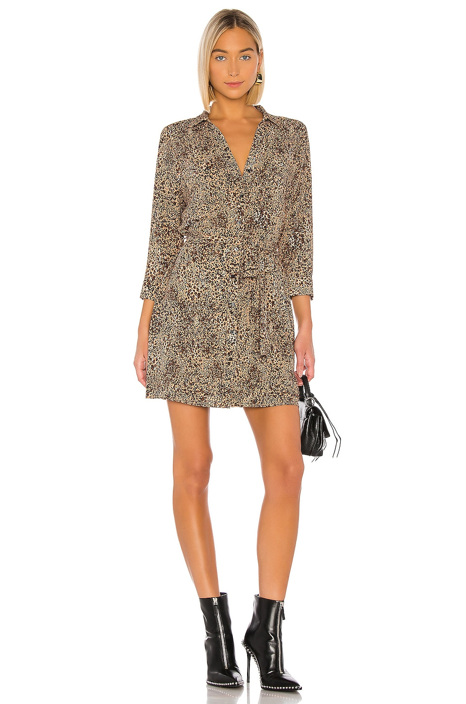 Leopard Muse Patch Pocket Shirt Dress             1. STATE                                                                                                                                         Sale price:                                                                       CA$ 56.75                                                                  Previous price:                                                                       CA$ 160.78 11
