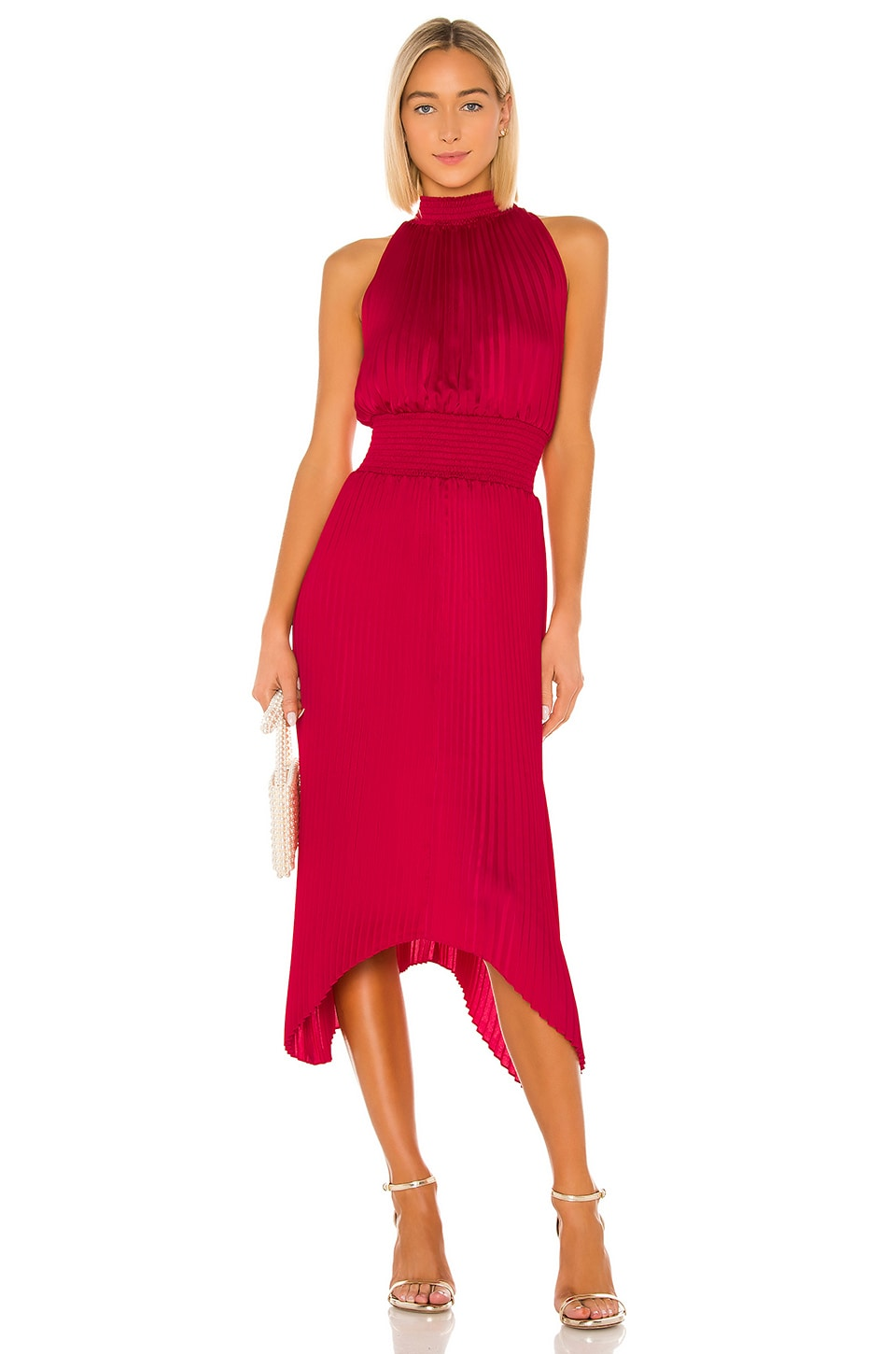 Halter Pleated Dress             1. STATE                                                                                                       CA$ 187.80 11