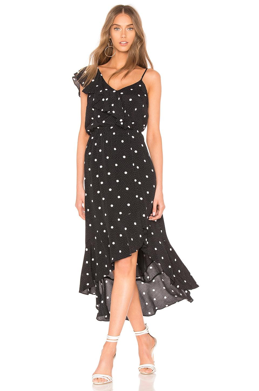 Ruffled Hi Lo Dress