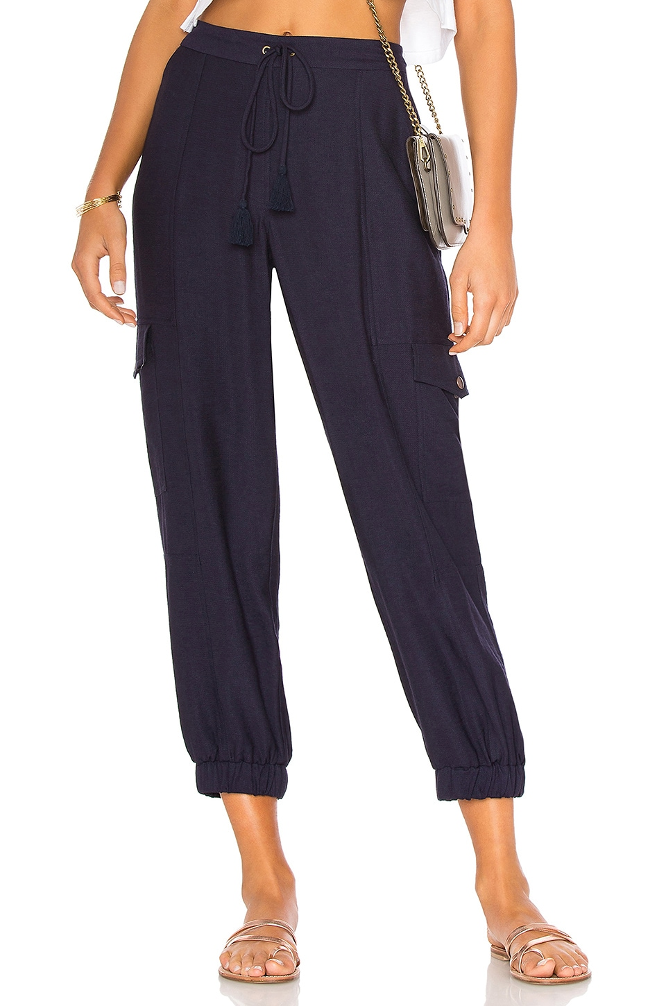 Flat Front Cargo Pant