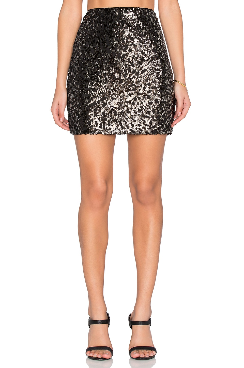 Sequin Mini Skirt by 1. STATE