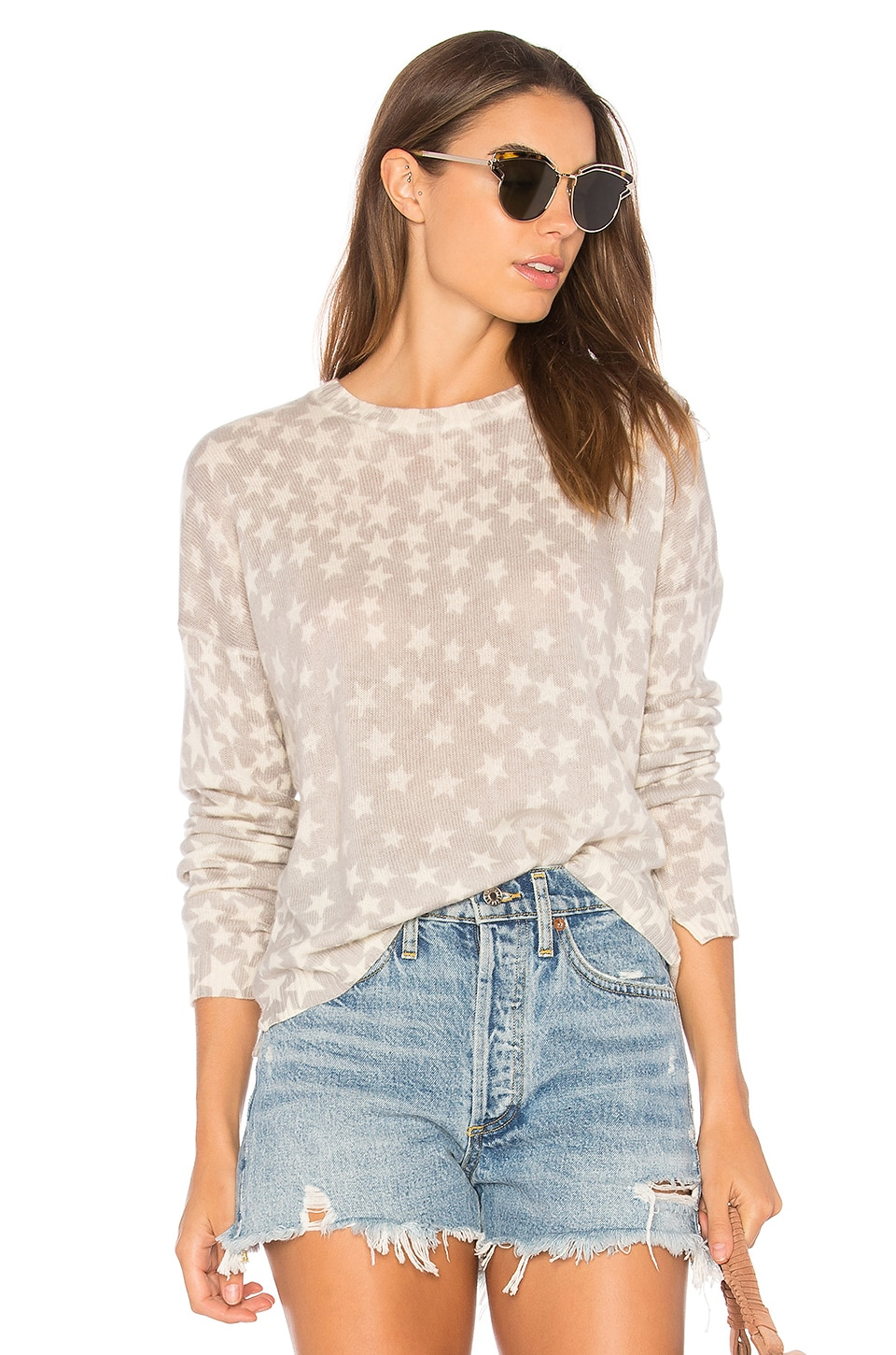 Mai Star Print Sweater