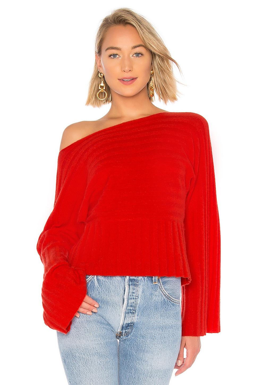 27 MILES MALIBU Catia Sweater in Red